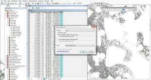 Developing Area + Capacity columns in ArcGIS for suitability analysis
