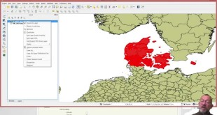 Downloading data from the Eurostat and visualizing in QGIS