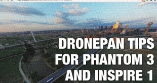 DronePan 360 Panoramas with DJI Phantom 3 Ready for Beta Testing