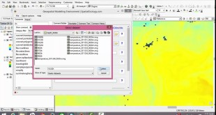How to use the Geospatial Modeling Environment tool to get the weighted temperature value