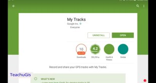 My Tracks & Google Earth: Capture your tracks