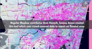 Citizens build map data flooded Chennai using open source maps