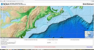 Download Bathymetry data