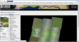 Downloading LandSat Imagery from USGS glovis