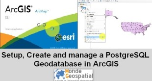 Setup, create and manage a PostgreSQL Enterprise Geodatabase in ArcGIS