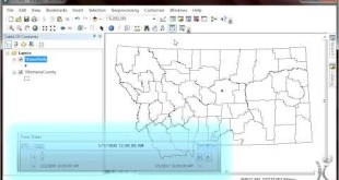 Introduction to Spatial Analysis (GIS) using ArcGIS Desktop and the Time Slider Window