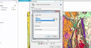 MapInfo  Data Entry Tutorial : The Picklist Manager