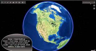 Navigating by Mouse in ArcGIS Earth