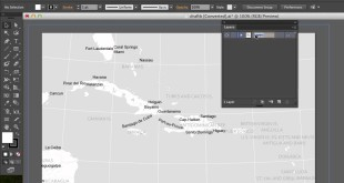 Prepping an Exported ArcMap in Adobe Illustrator