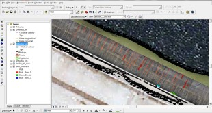 UAV aerial imagery and ArcGIS