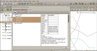Vector topology cleaning with QGIS and GRASS
