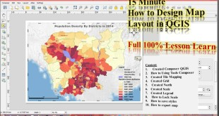 Creating Map layouts in QGIS
