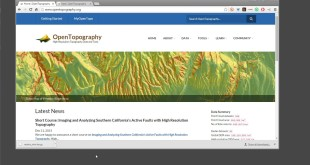 Downloading OpenTopography DEM Global Coverage to ArcGIS