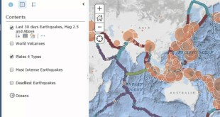 Mapping and Investigating the most intense, deadly, and recent earthquakes in ArcGIS Online