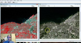 Overview of MultiSpec with a Landsat image