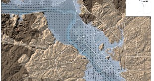 The Mousel dam breach – dummy modelling results in QGIS