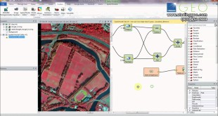 Tree Heights using the ERDAS IMAGINE Spatial Modeler & EA Open LiDAR