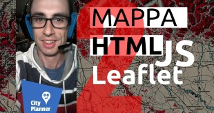 WebGIS tutorial using LeafletJS : HTML, CSS and Bootstrap