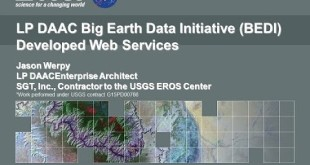 Earthdata Webinar: Discover NASA Land Processes Data with Web Services