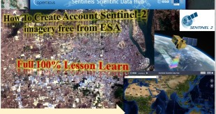 How to create Sentinel-2 Account