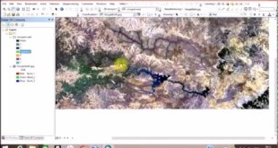 Import Google Earth Image to ArcMap and Classify