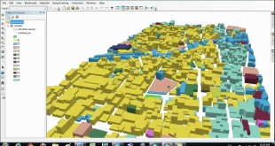 Making 3D file in ArcGIS and Google earth