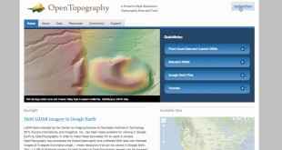 OpenTopography Tutorial: Download Point Cloud Data and Custom DEMs