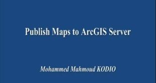 Publish Maps to ArcGIS Server