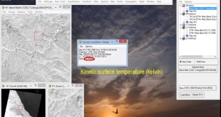 Remote sensing for all Converting Landsat TM and ETM band 6 into surface temperature