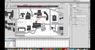 Adobe Flash CS6 for Web Mapping: Masking Your Illustrator Map to Fit the Stage