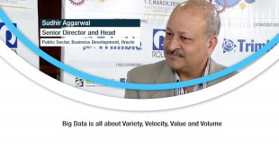 Big Data is all about variety, velocity, value and volume