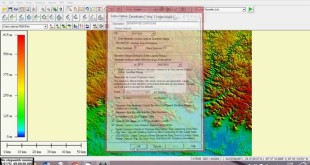 extrair curvas de nível de imagem SRTM 30 m com o Global Mapper / Shuttle Radar Topography Mission
