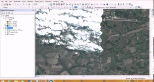 Georeferencing of Google Earth image