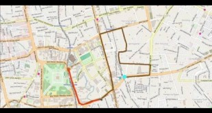 GPS Tracking Simulation with ArcGIS Desktop