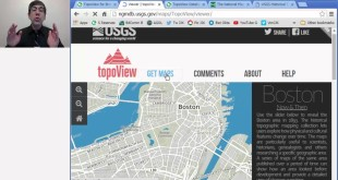 Using TopoView to Download and View Historical USGS Topo Maps