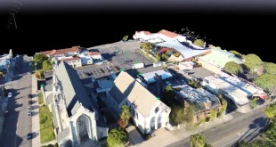 AERIAL MAPPING – 3D Model of a Church using drones exposes a great tool..