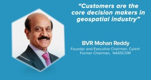 Customers are the core decision makers in geospatial industry