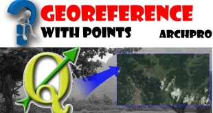 Georeferencing rasters(satellite maps) by points in QGIS 2.12