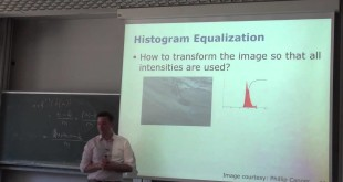 Photogrammetry – Histograms and Point Operators