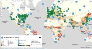 Rapid Assessment of Hazard Impacts-NASA SEDAC Hazard Mapper