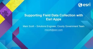 Supporting Field Data Collection with Collector and Navigator