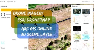 Drone2Map for ArcGIS – Creating and Sharing Scene Layer to ArcGIS Online