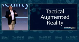 """GEOINT Foreword Lightning Talk: """"Enabling Cloud-based Augmented Reality Networks"""""""