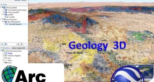 in this video w'll see how to present a Geologic Map in 3D with Google Earth, using Arcgis