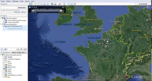 Google Earth : importing GPS data