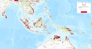 Satellite map helps prevent fires in Southeast Asia