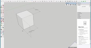 Scaling in Sketchup 2016