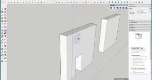 Tips in cutting Surface using Solid tool in Sketchup 2016
