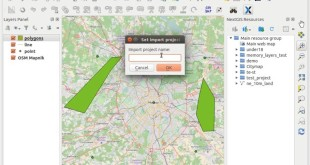 Create and send memory layers from QGIS to nextgis.com