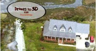 Drone2Map for ArcGIS – 3D mapping